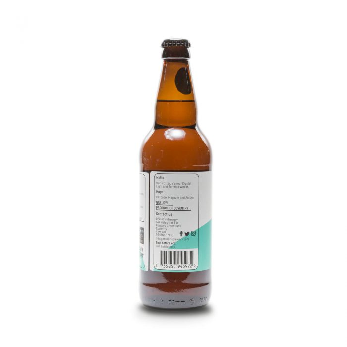Bright Eyes 500ml bottle reverse 2