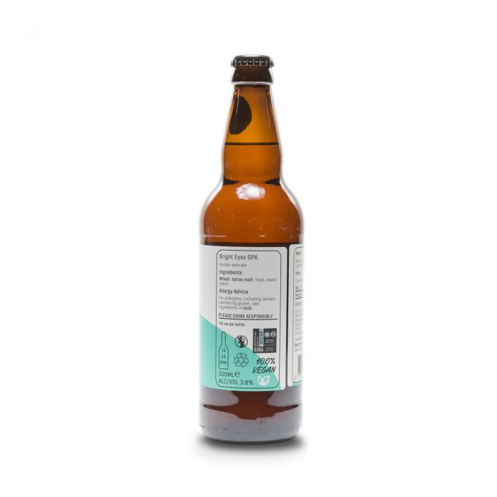 Bright Eyes 500ml bottle reverse