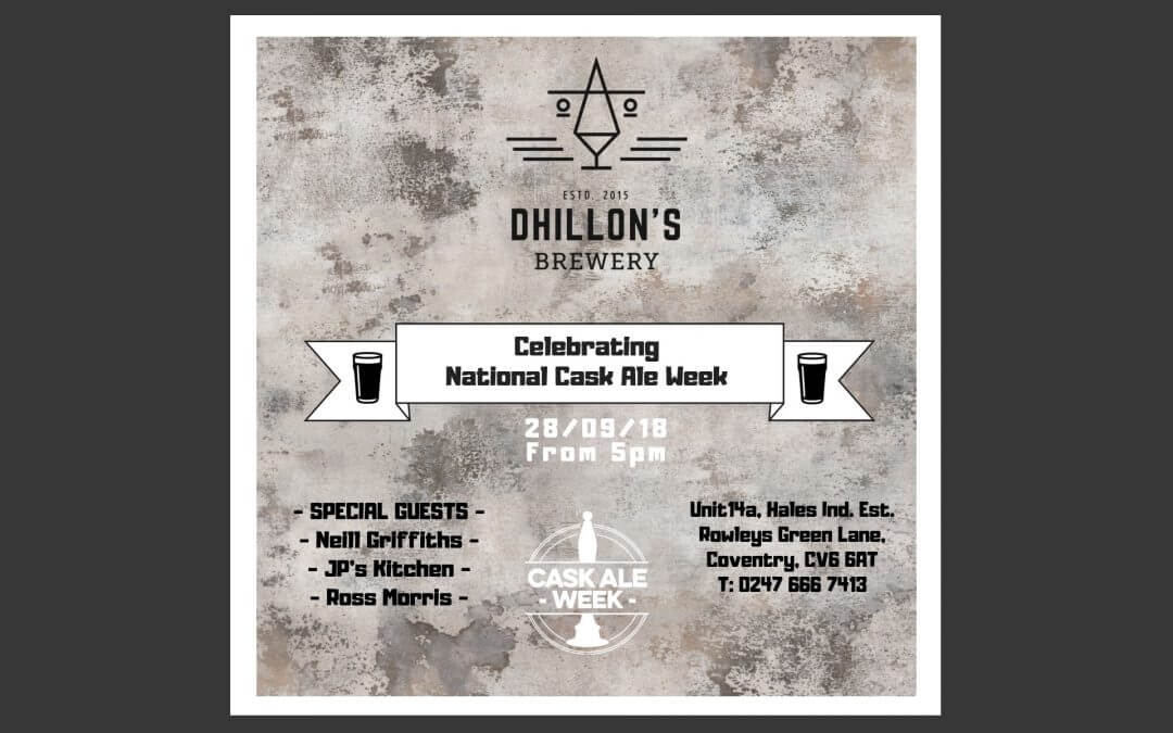 National Cask Ale Week @ Dhillons
