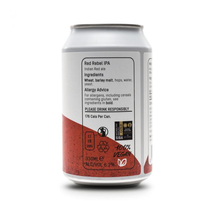 Red Label IPA 300ml can reverse