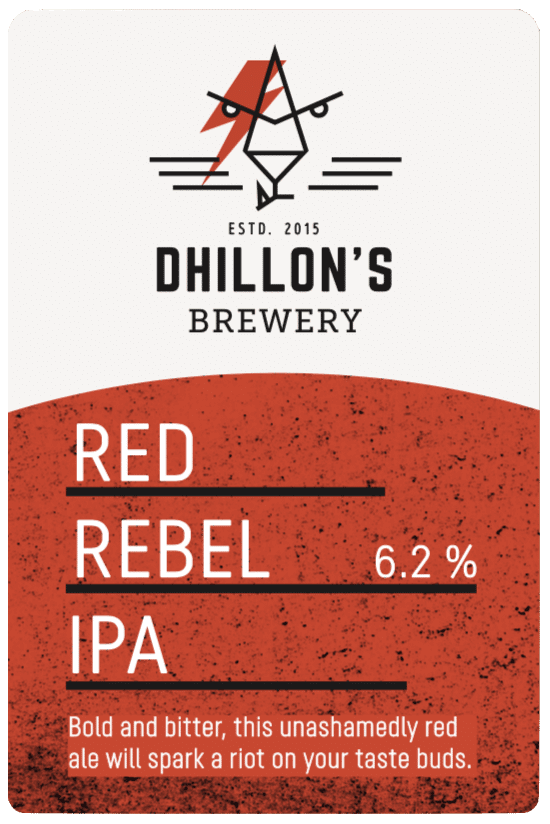 Red Rebel IPA Label